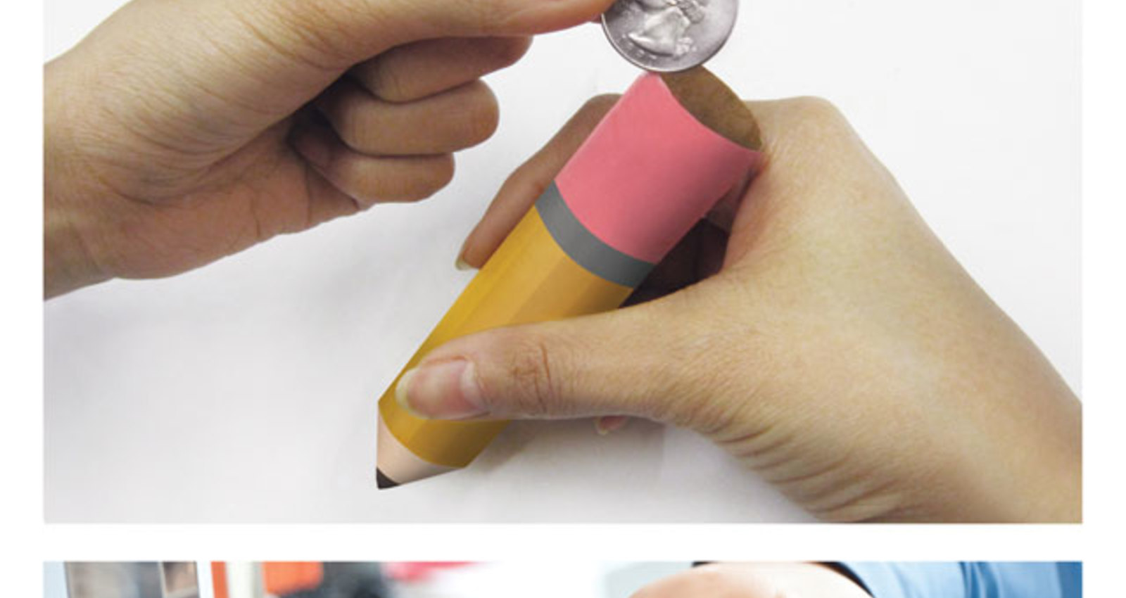 Pencil Coin Wrappers