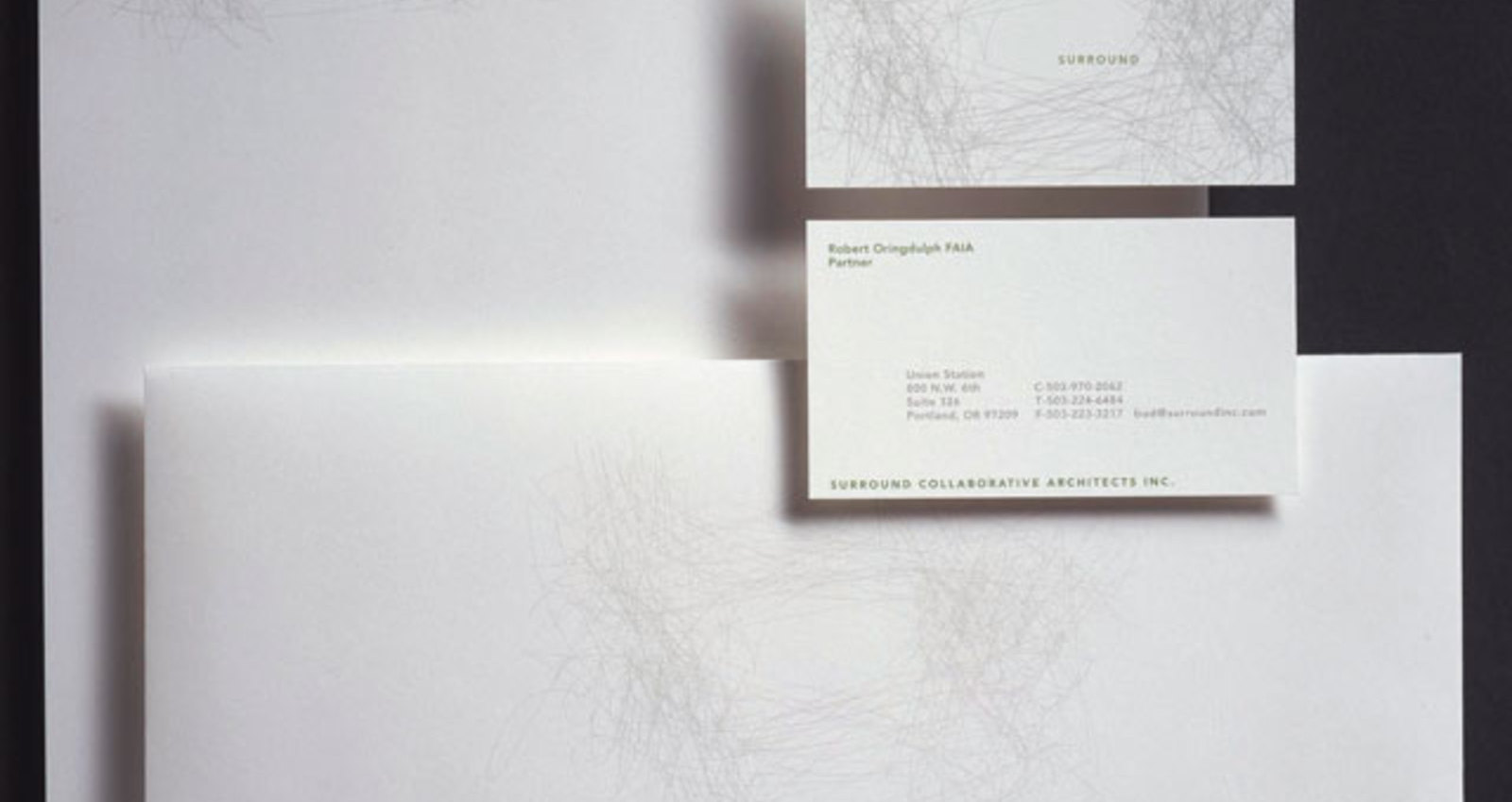 Surround Collaborative Architects Corporate Identity