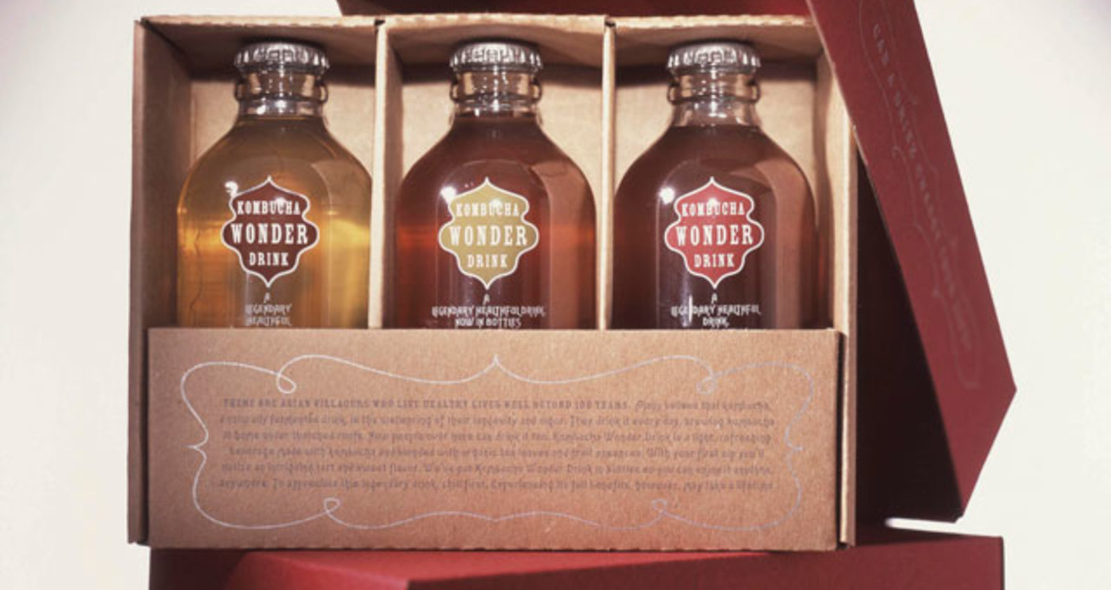 Kombucha Wonder Drink Holiday Gift Box