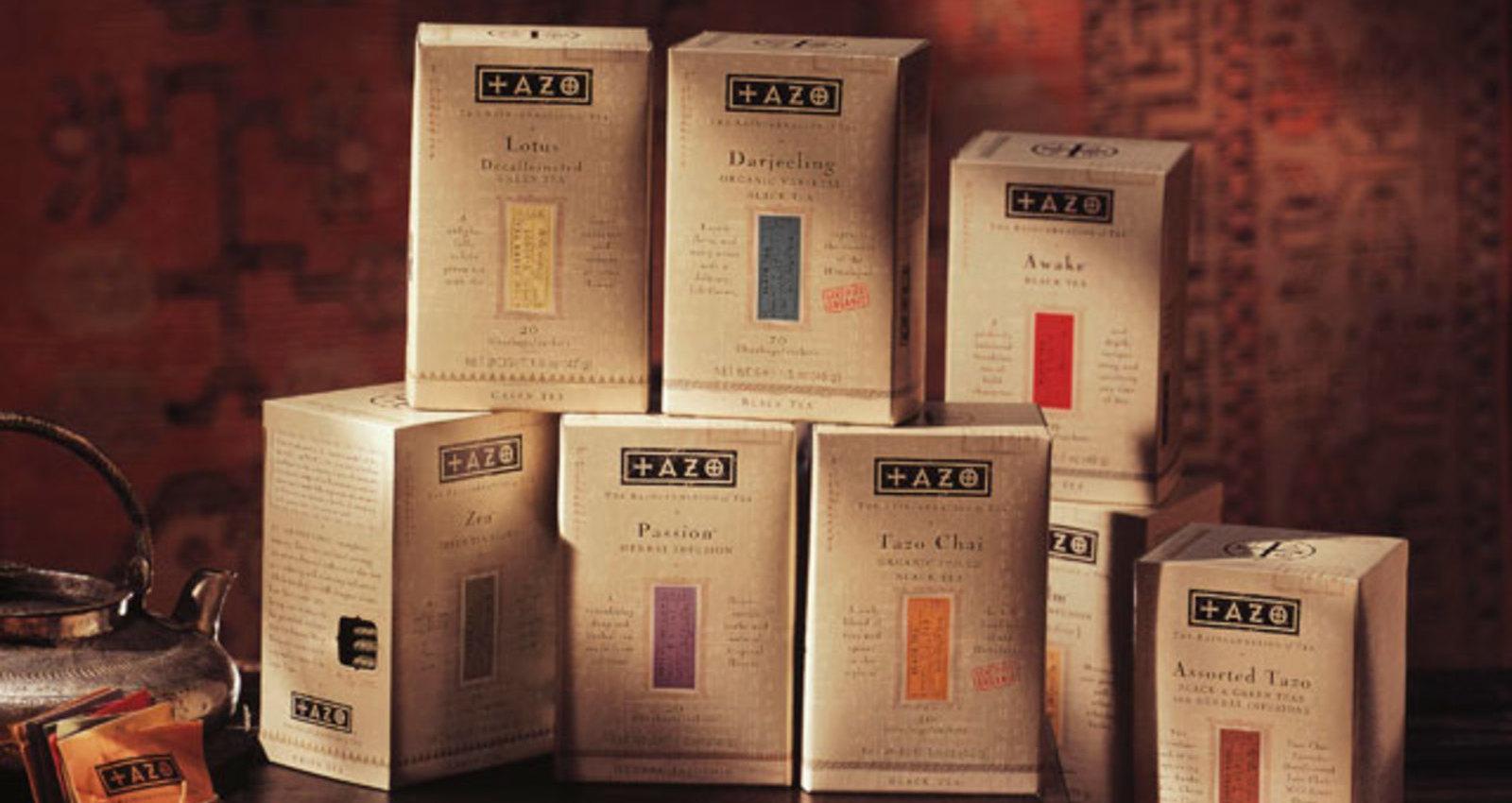 Tazo 20 count Cartons