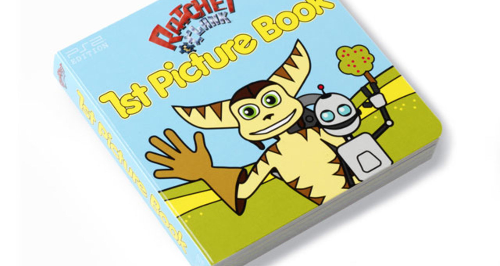 Ratchet & Clanks' 1st Picture Book