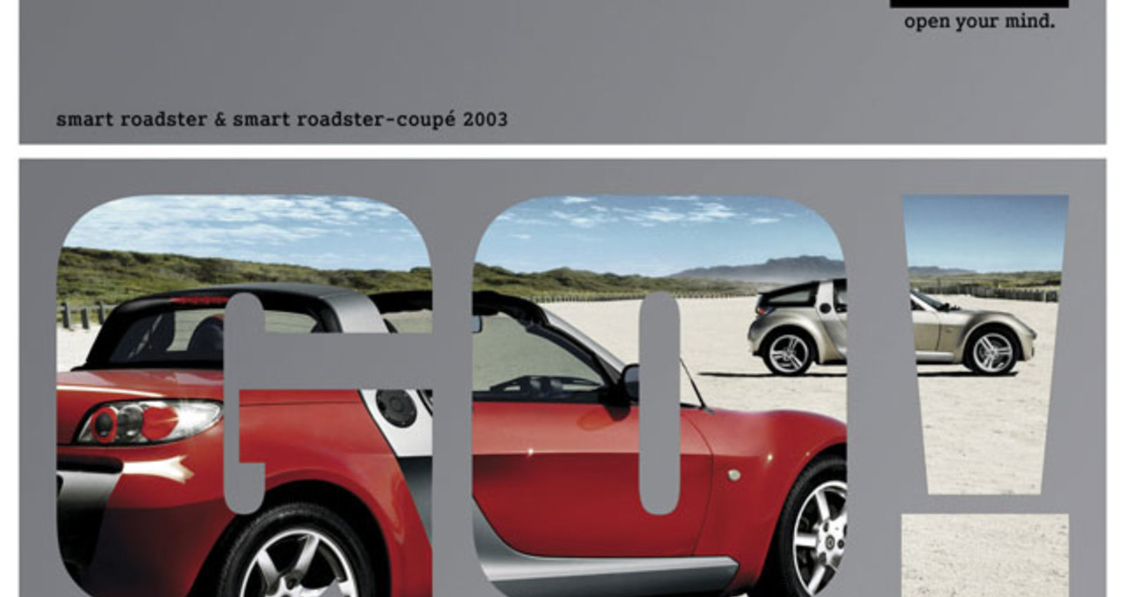 smart roadster & smart roadster-coupé main catalogue 2003