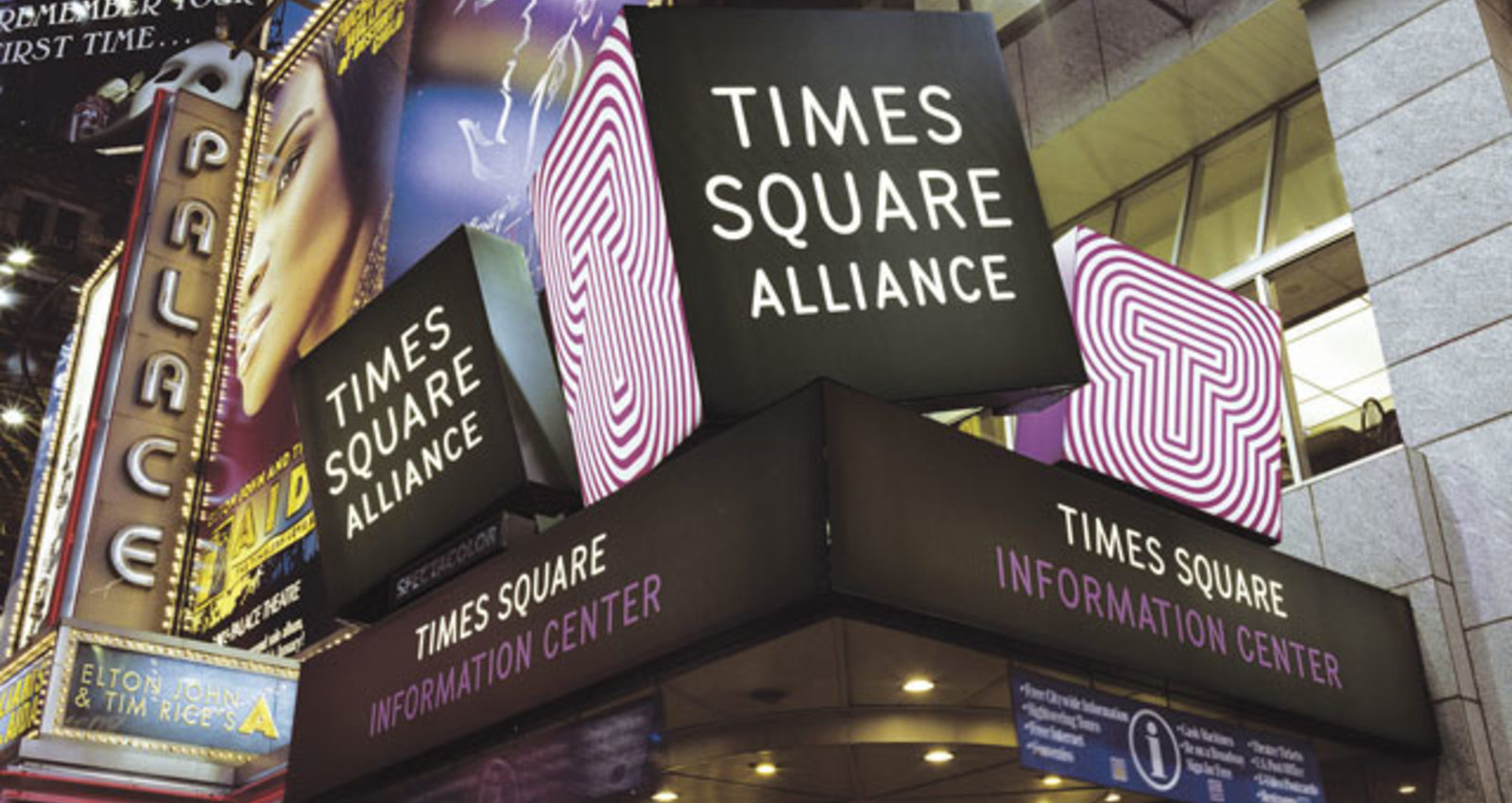Times Square Alliance Identity