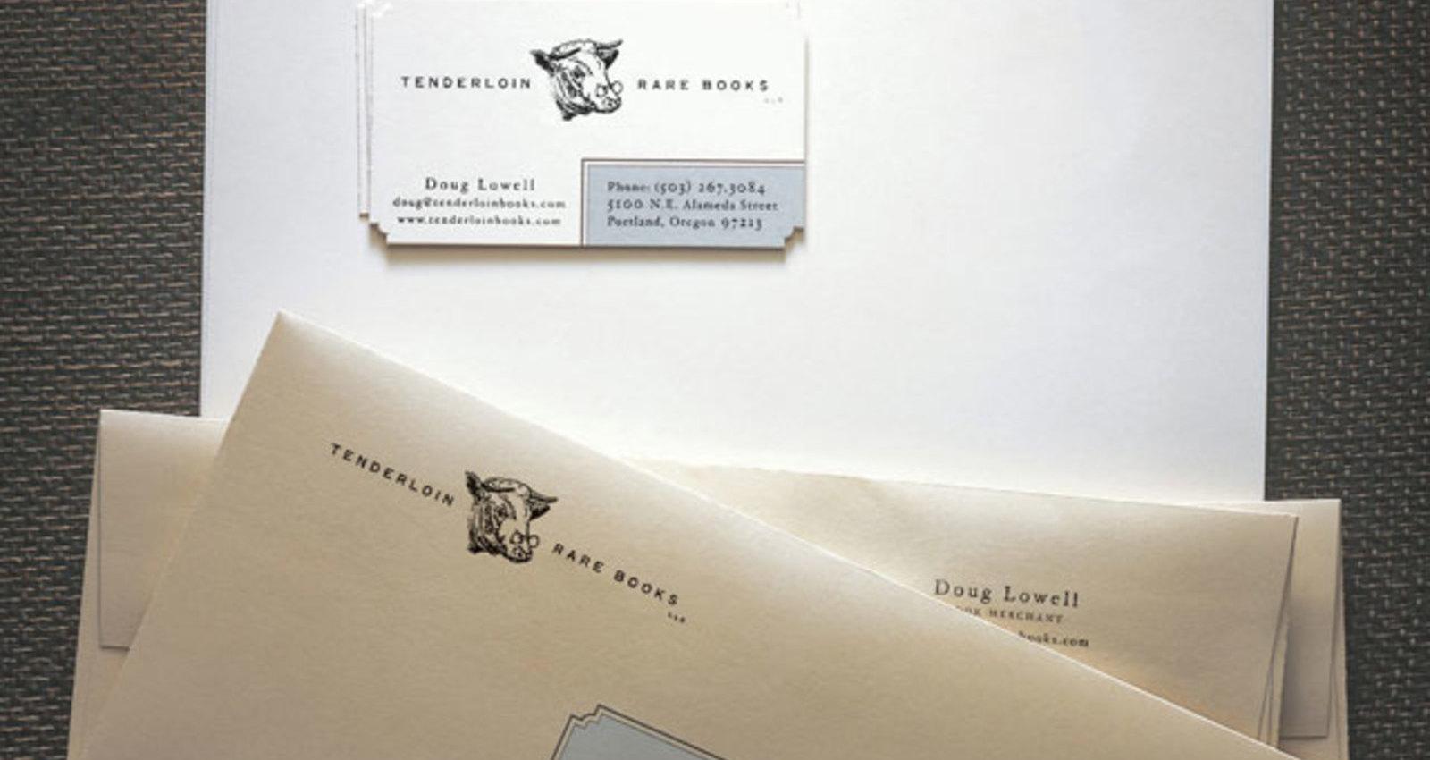 Tenderloin Rare Books Identity