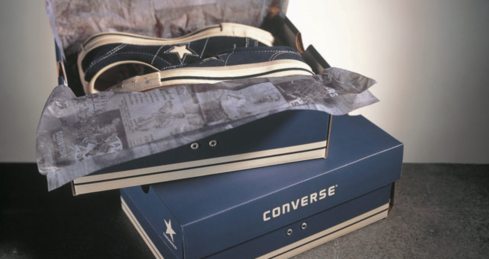 Converse Shoe Box - Black, Converse Shoe Box - Blue, Converse Shoe Box - Tan