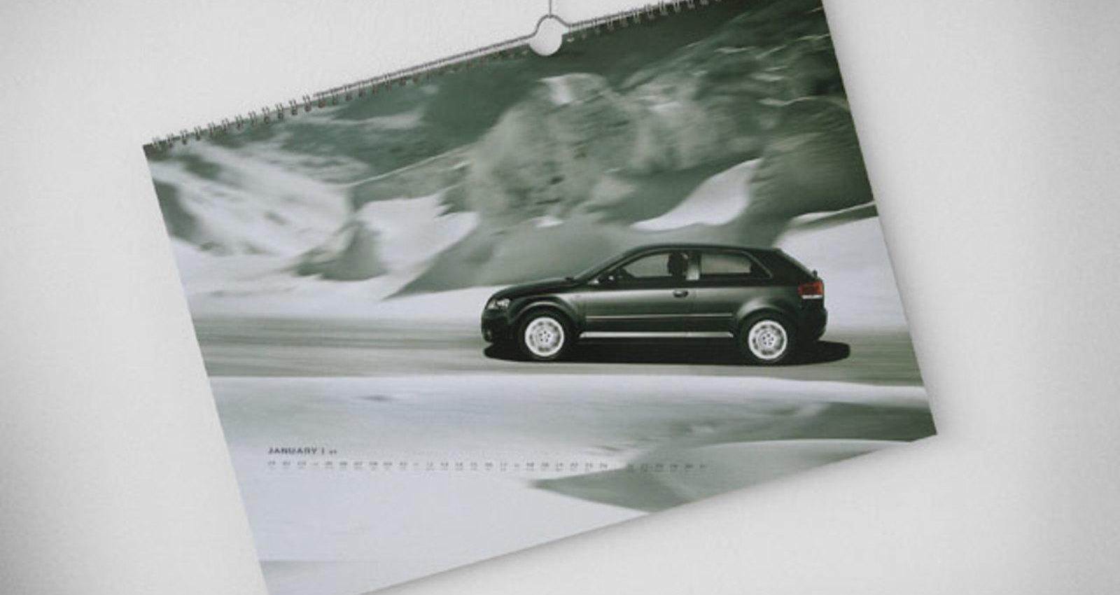 Audi Quattro Calendar