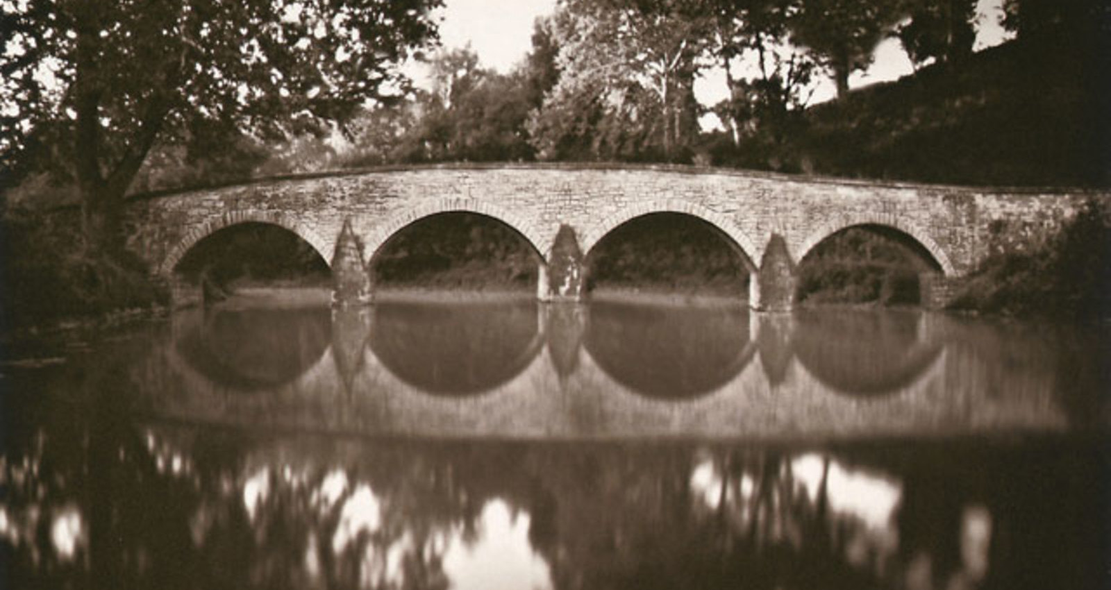 Bridge, Hay, Rowers