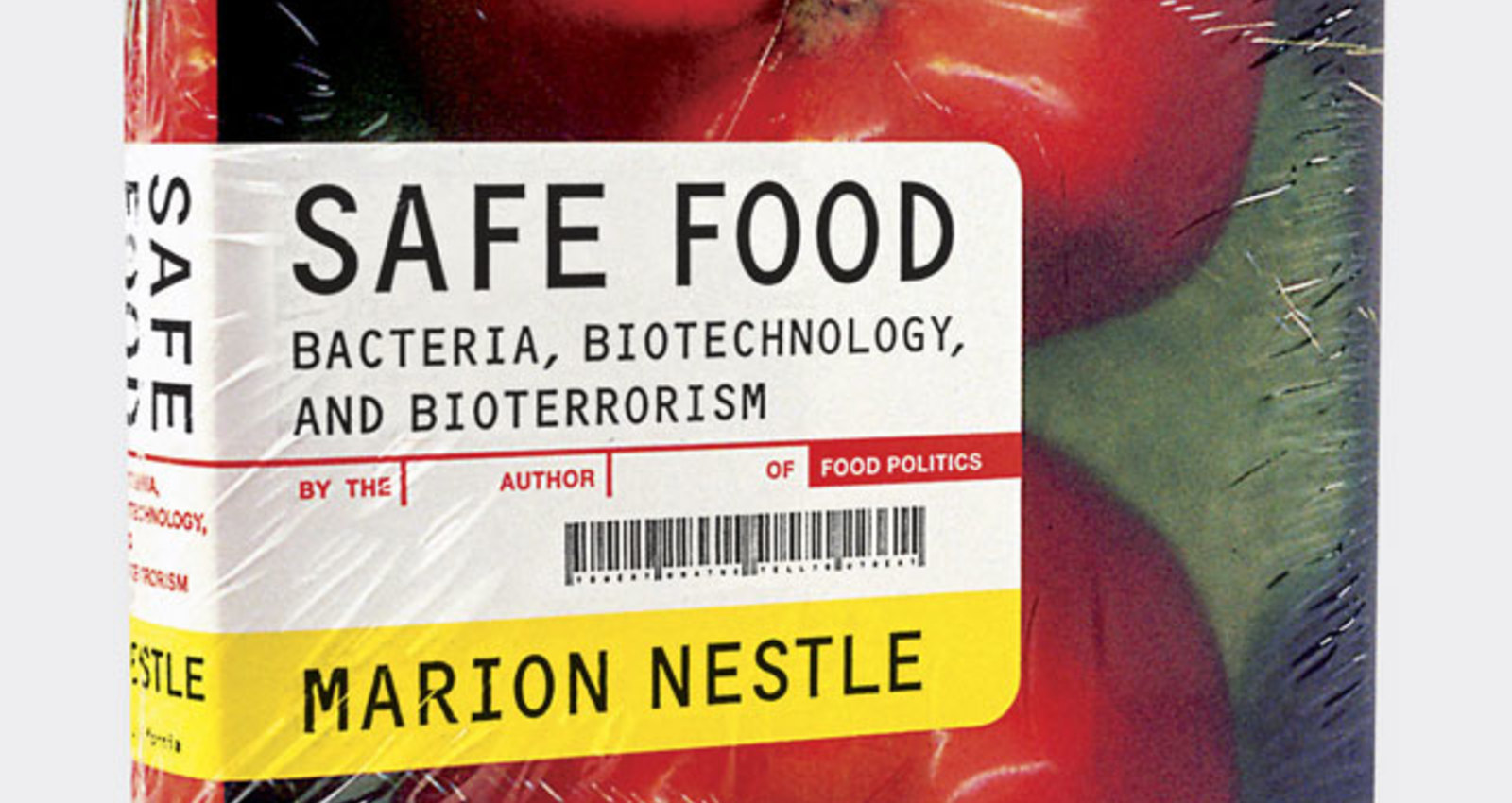 Safe Food Book Jacket
