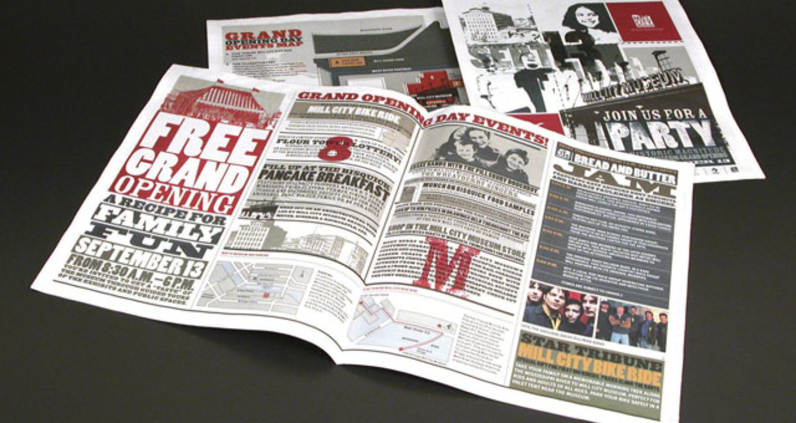 Grand Opening Newspaper Ad, Grand Opening Invitations, Site Guide