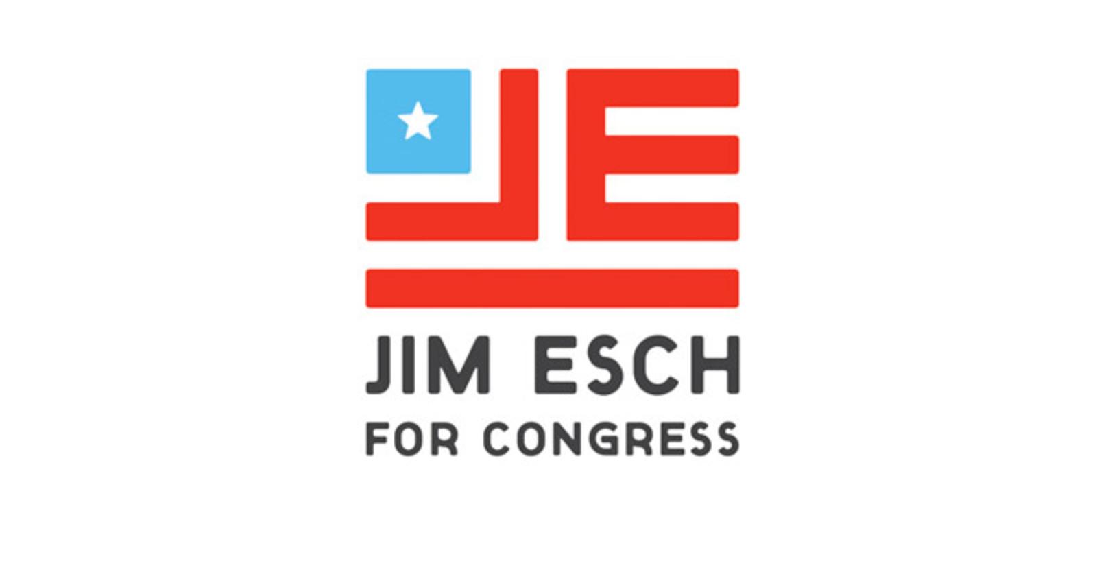 Jim Esch for Congress Logo