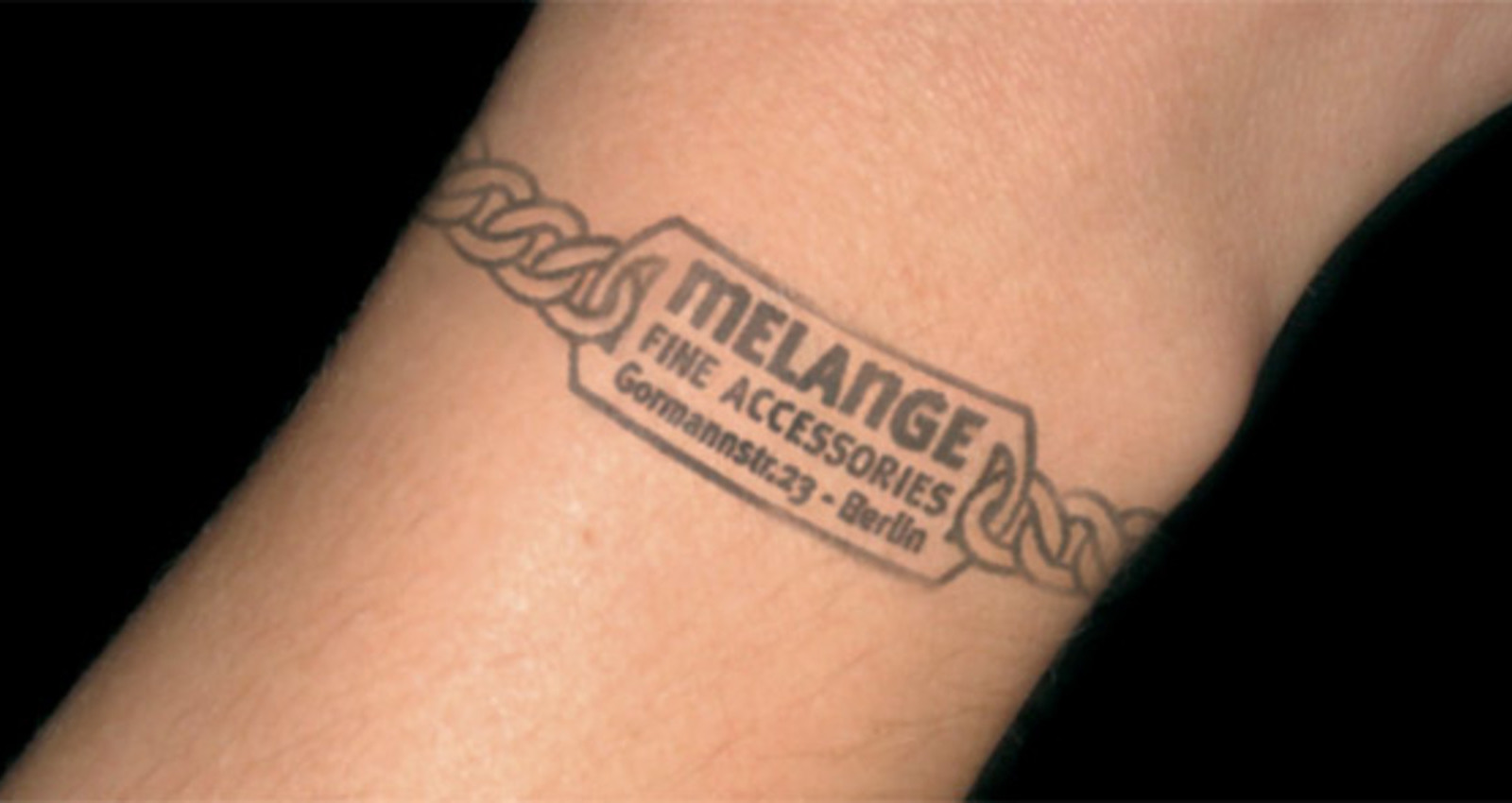 The Melange Accessoires Nightclub Stamp