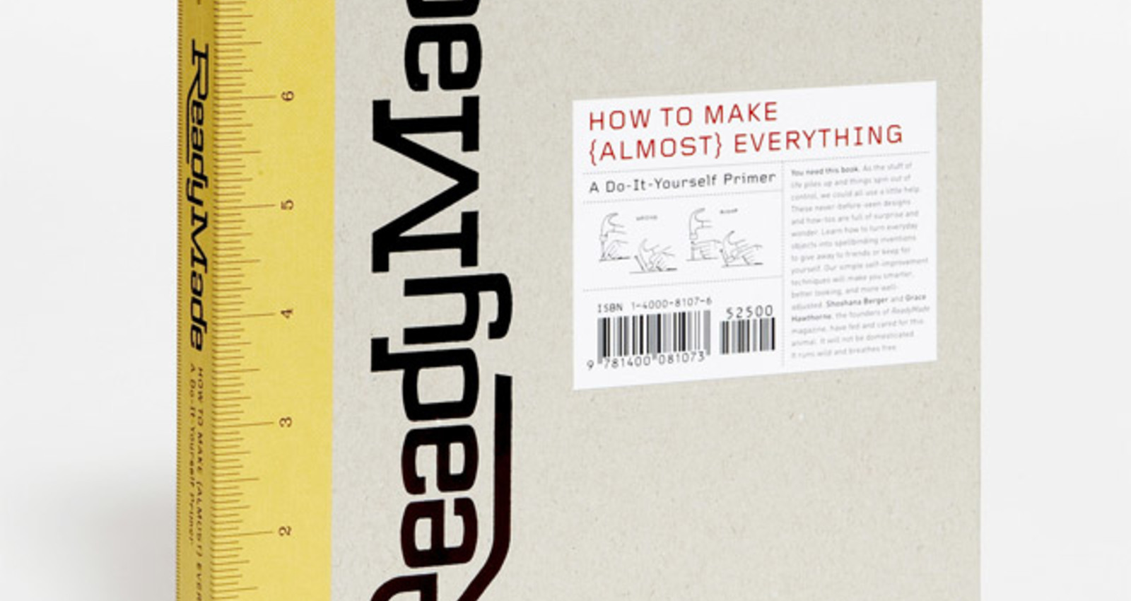 ReadyMade?How To Make {Almost} Everything