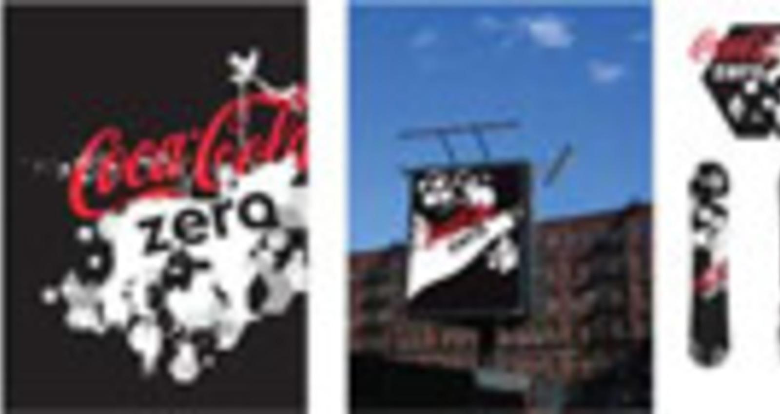 Coca-Cola Zero Brand Identity and Visual Language