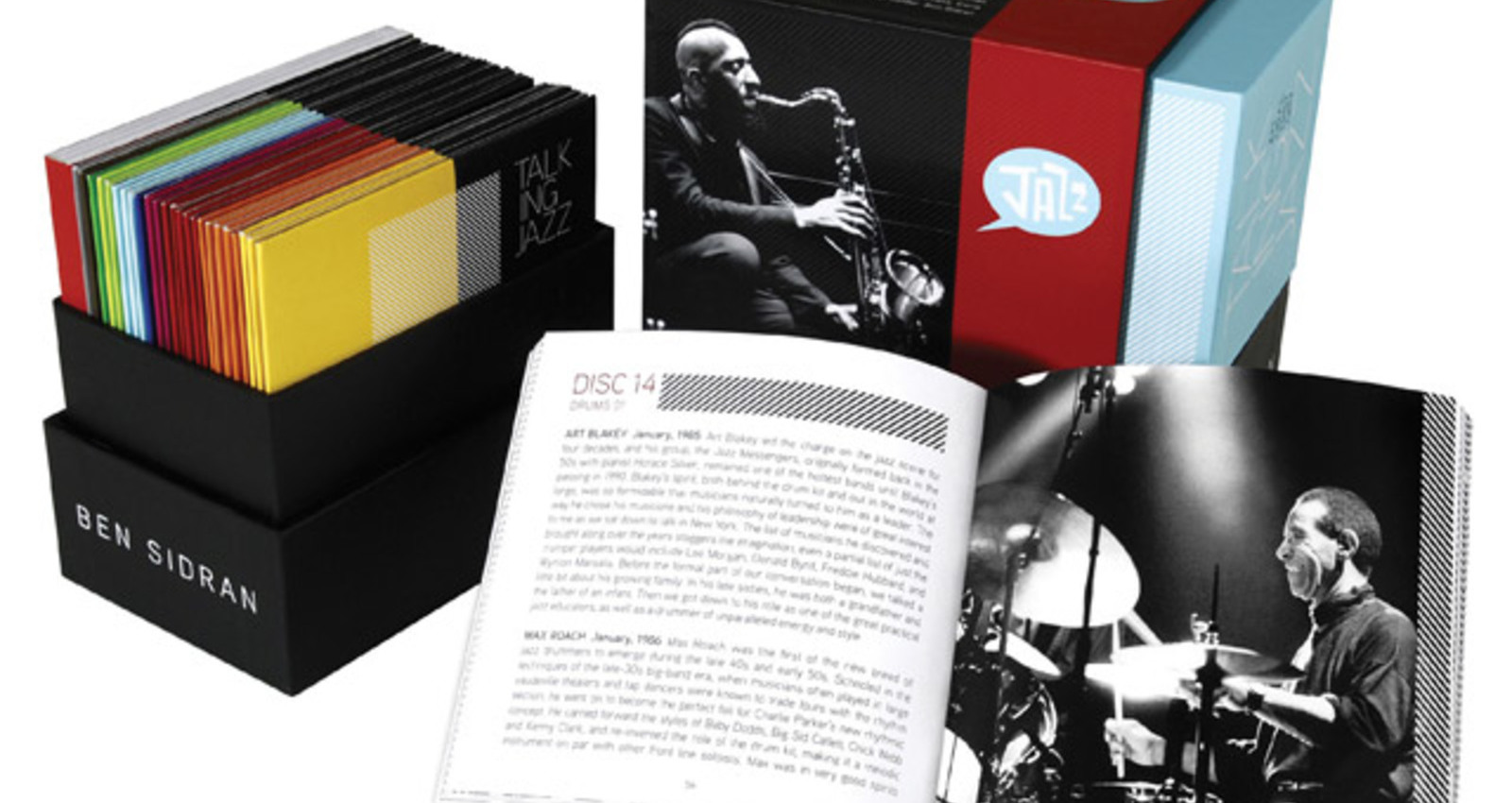 Talking Jazz Box Set