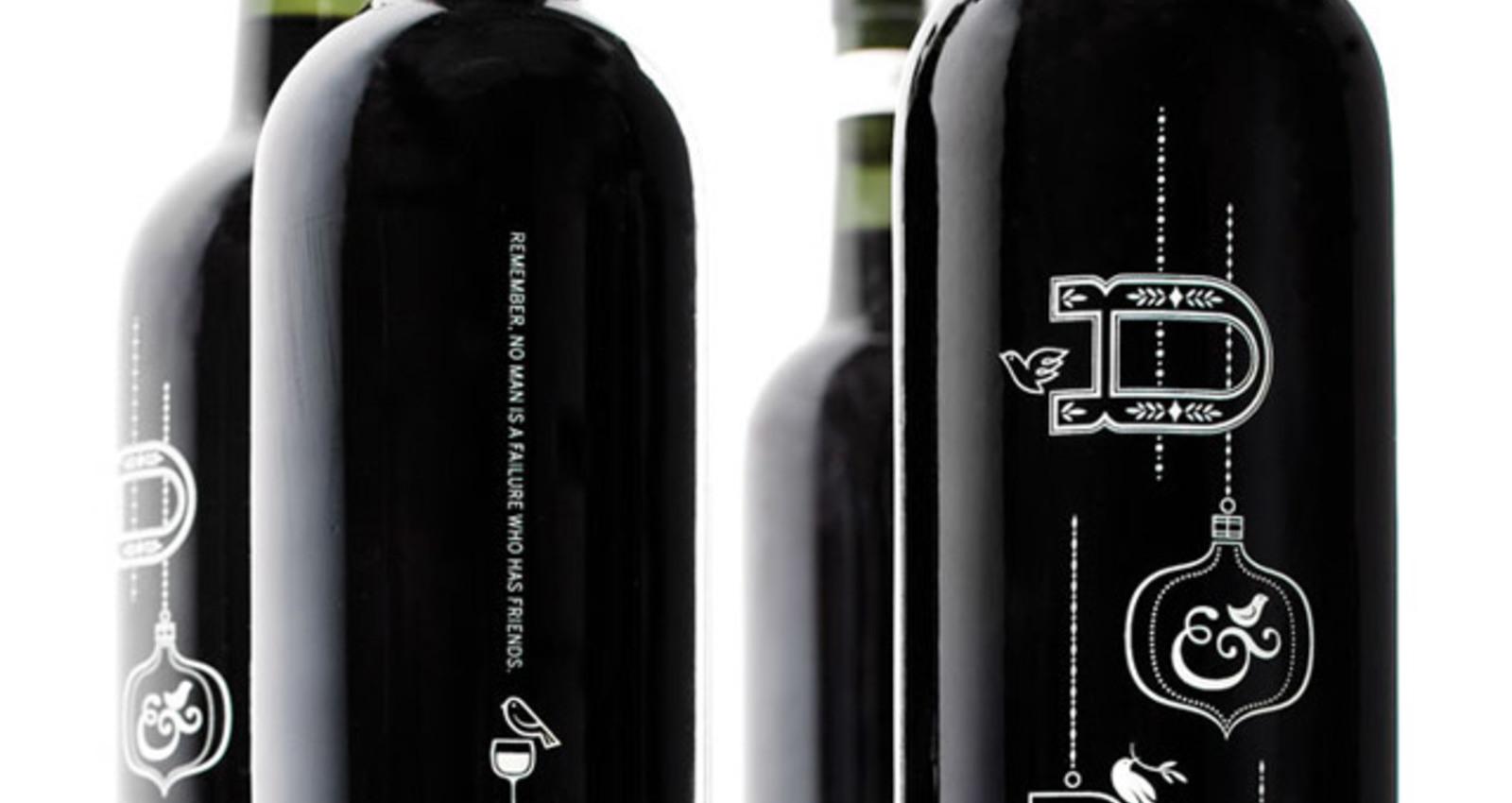 Duffy & Partners Holiday Wine Bottle