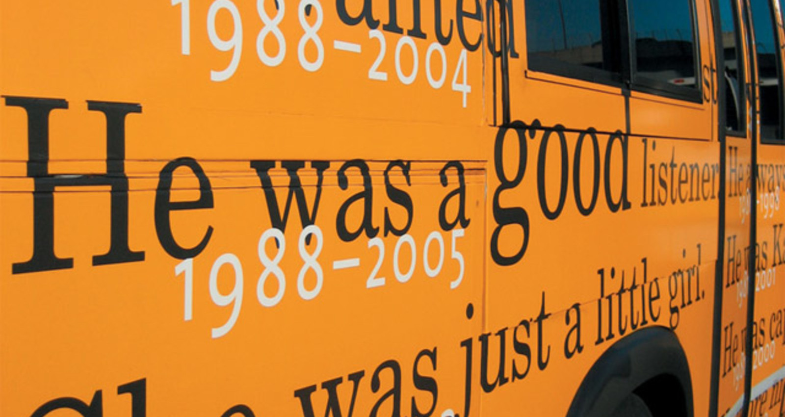 Remembering Boston's Children 1980-2005