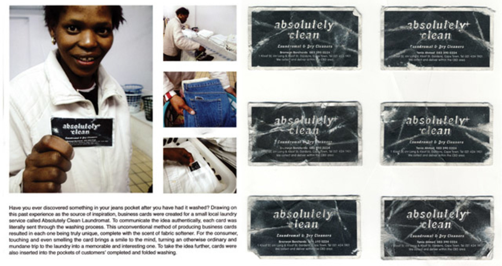 Laundrette Business Card