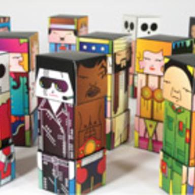 Super-Bastard Box Art Characters