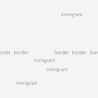 Words: Immigrant/Border