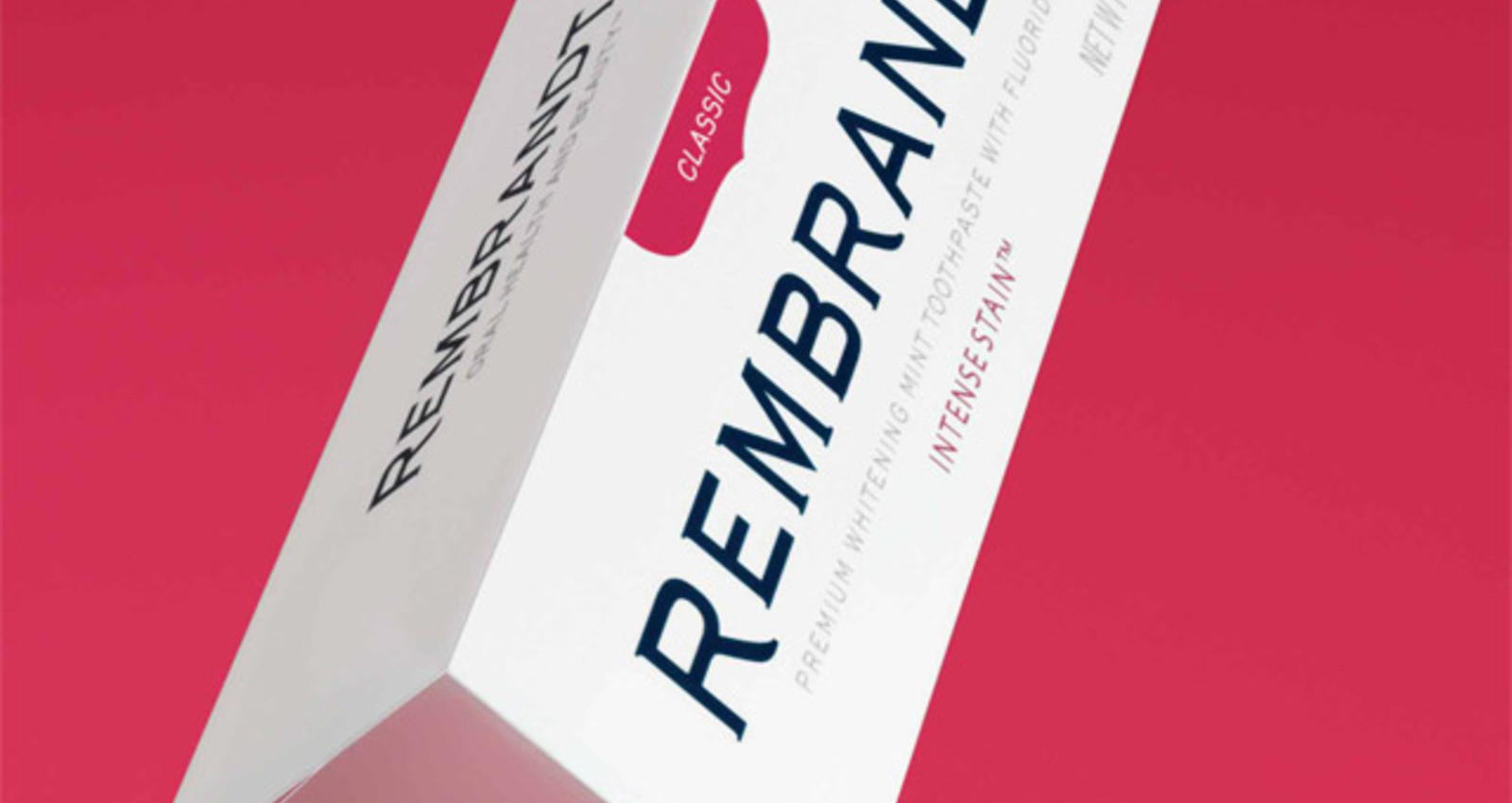 Rembrandt Product Packaging
