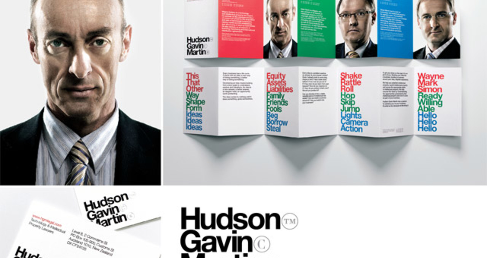Hudson Gavin Martin Identity