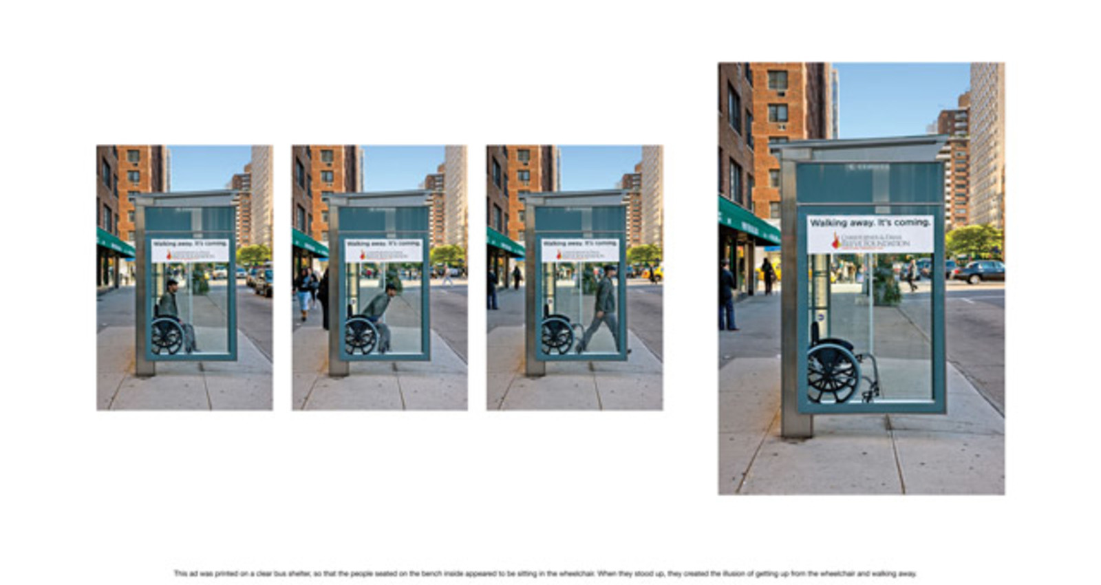 Wheelchair Bus Shelter