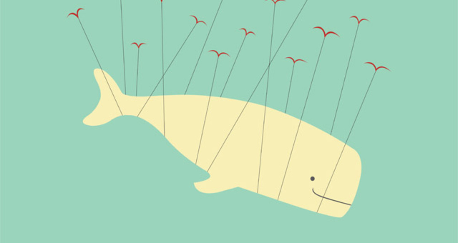 Animal Friends- Whale & Birds