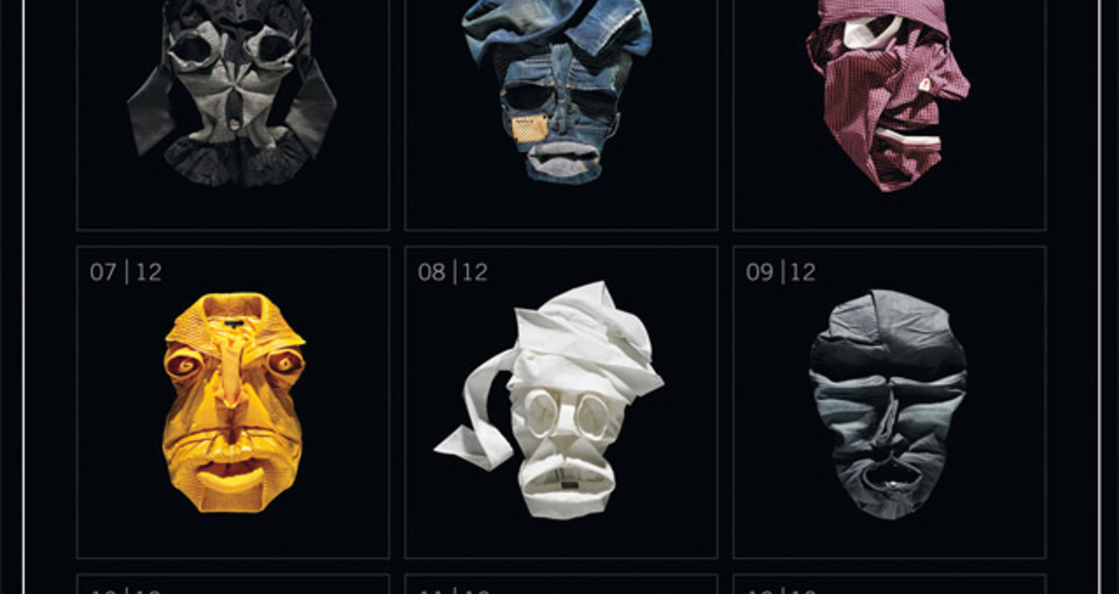 Yalook - Fashion Faces - Calendar