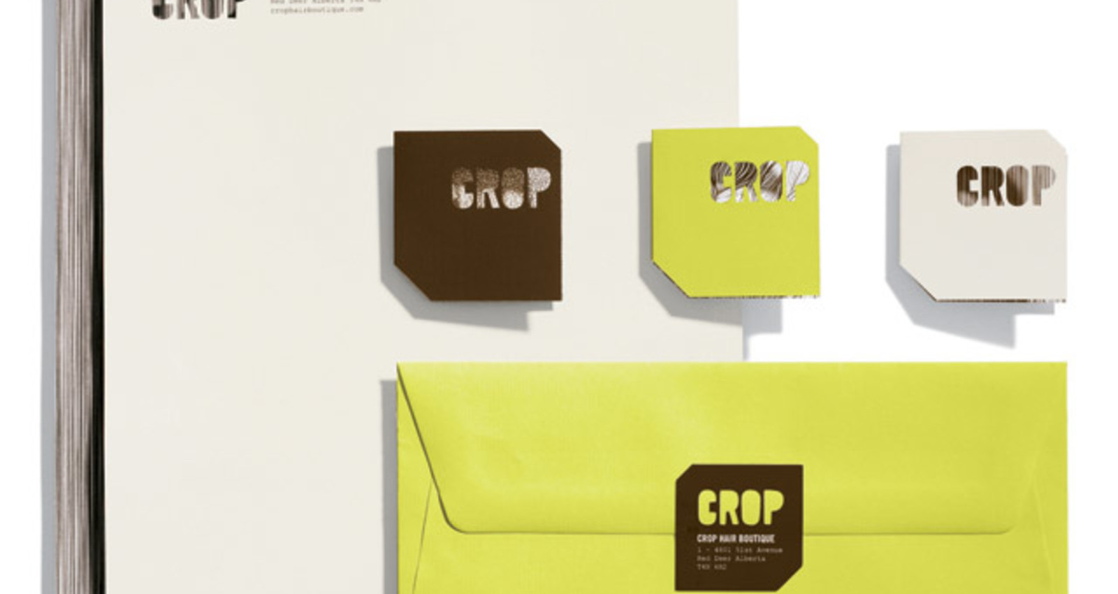 Crop Hair Boutique Identity