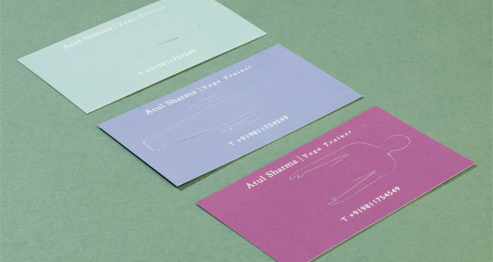 Fold-out Yoga Cards