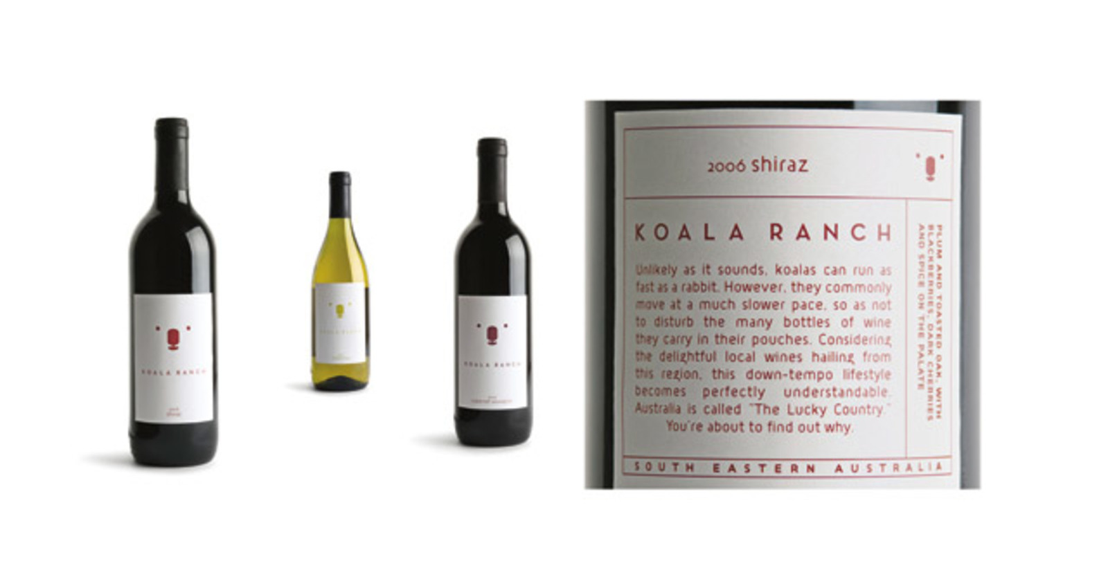Koala Ranch Packaging