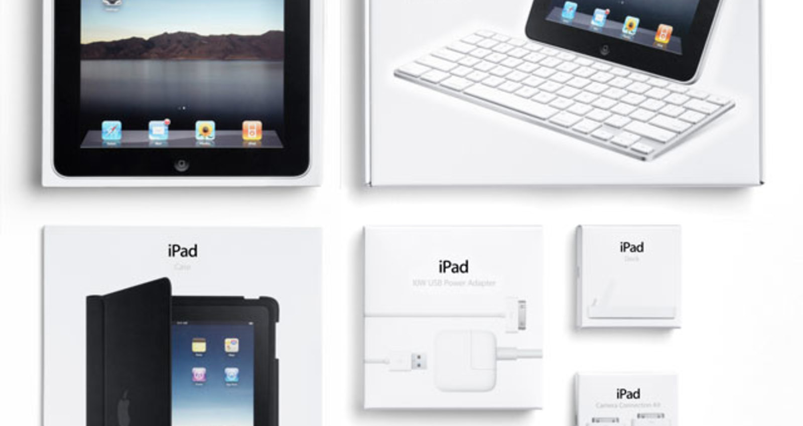 iPad and iPad Accessories Packaging