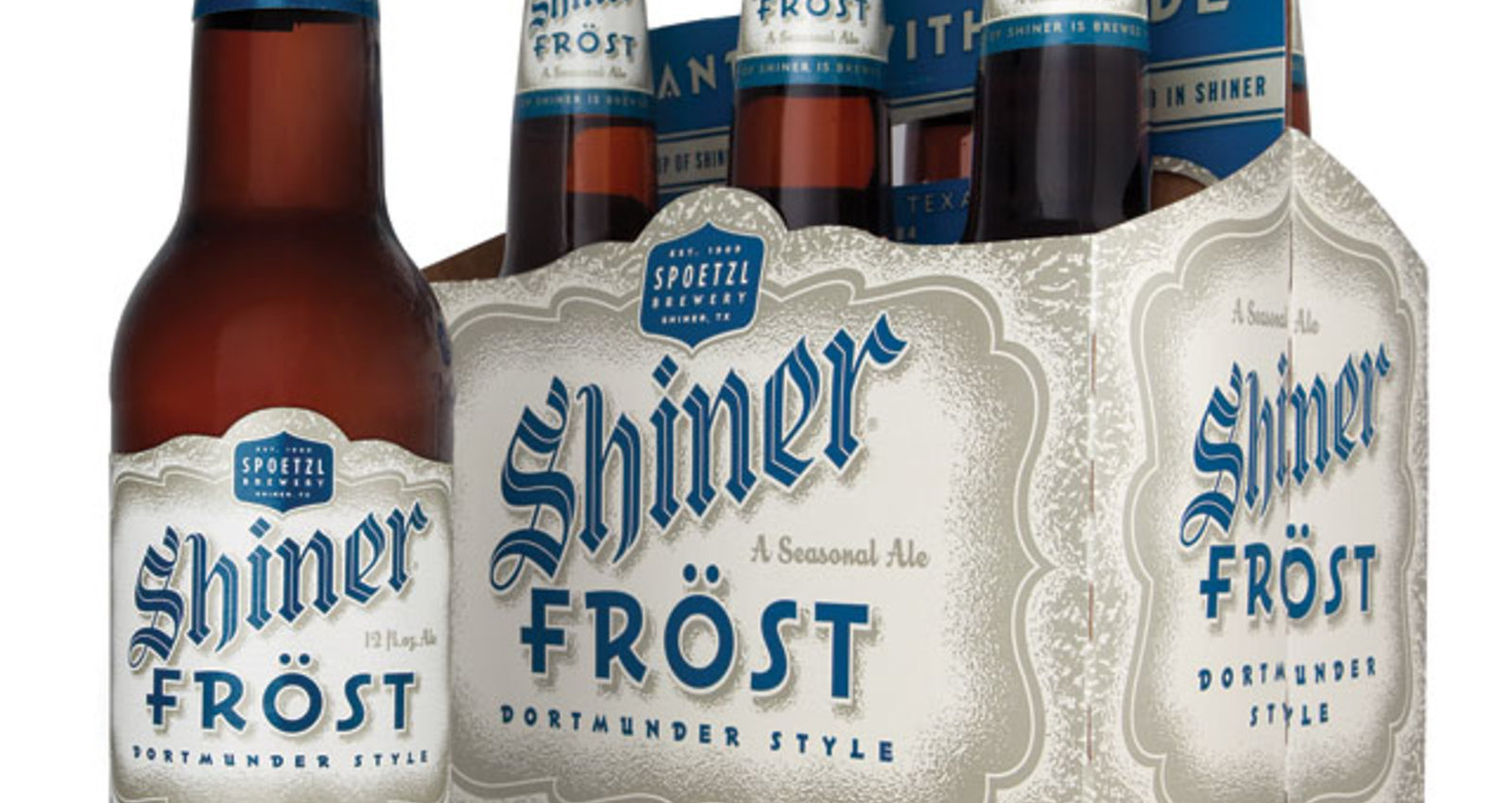 Shiner Beers Frost Packaging