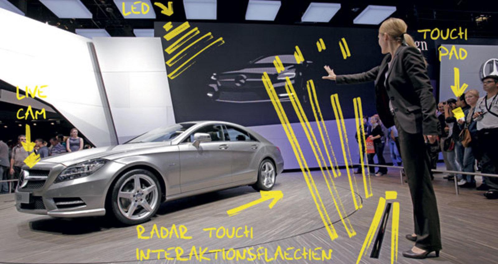 Interactive Presentation Tool – CLS Show Paris 2010