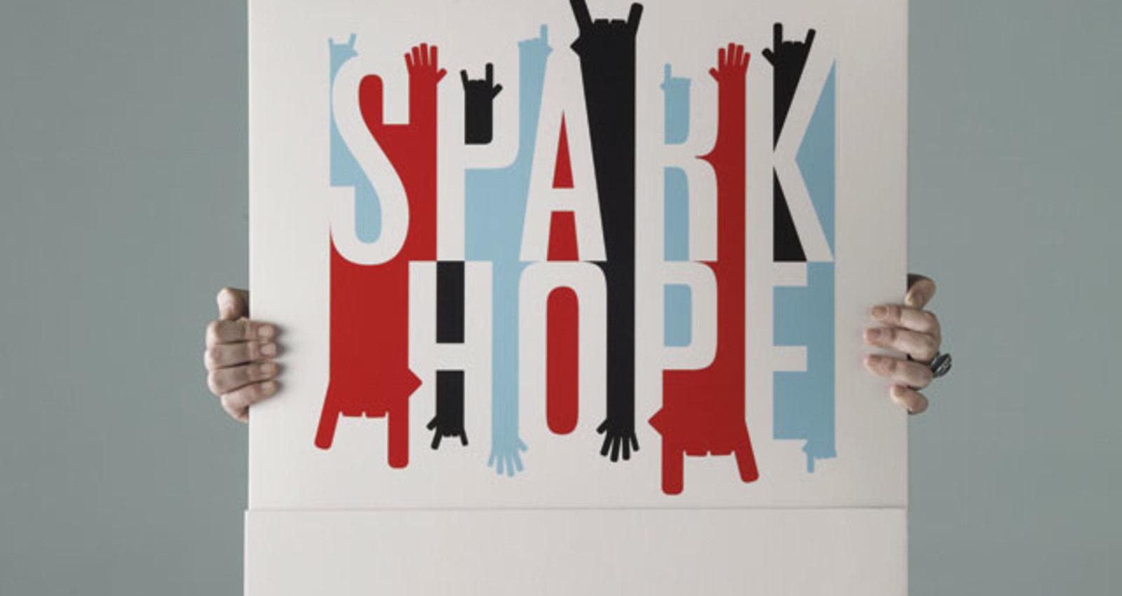 Spark Hope Matchbook