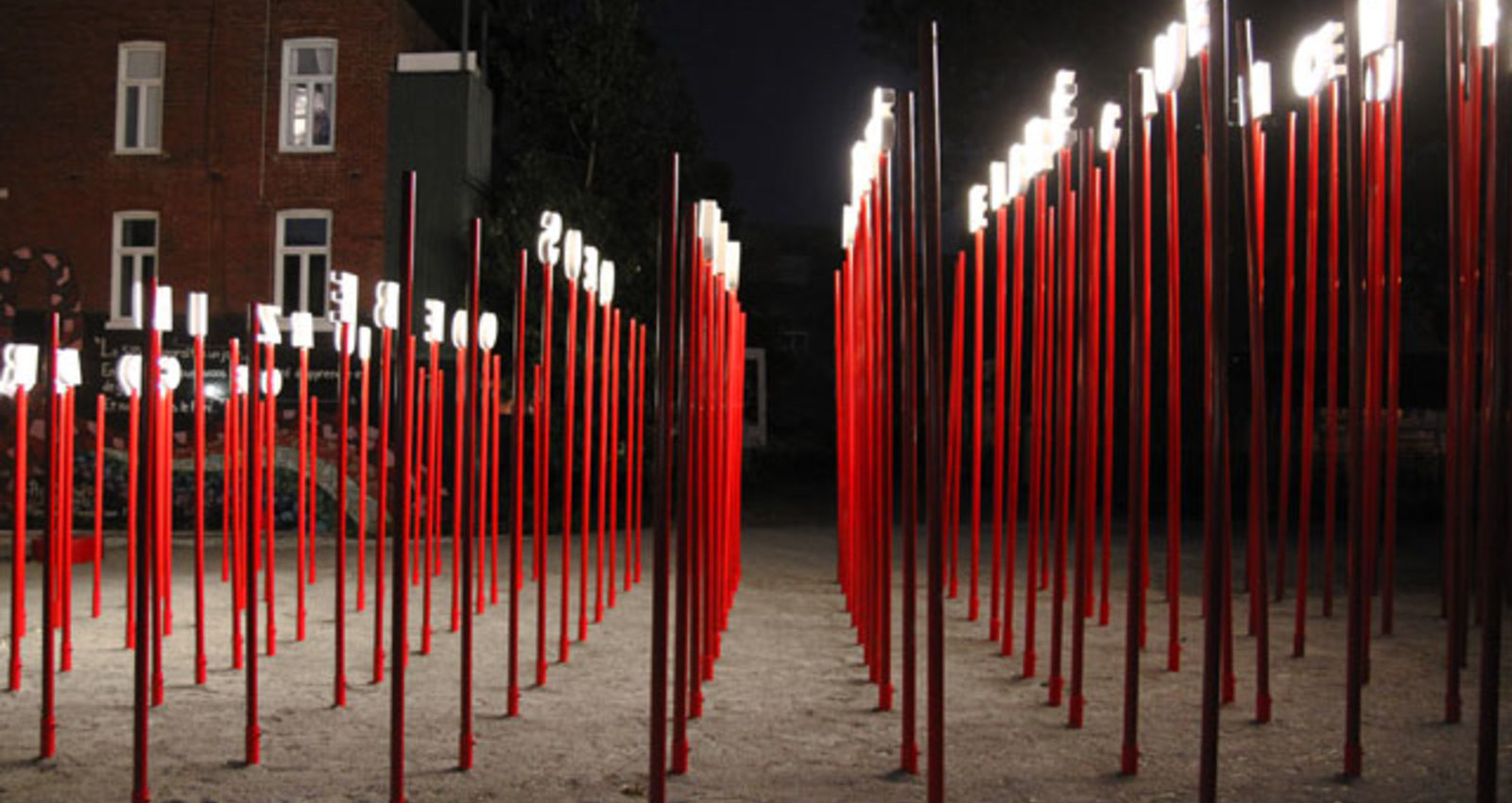 Aires  libres – Amherst Park Anamorphic Installation