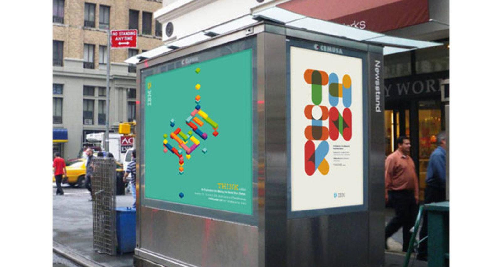THINK Exhibit Posters