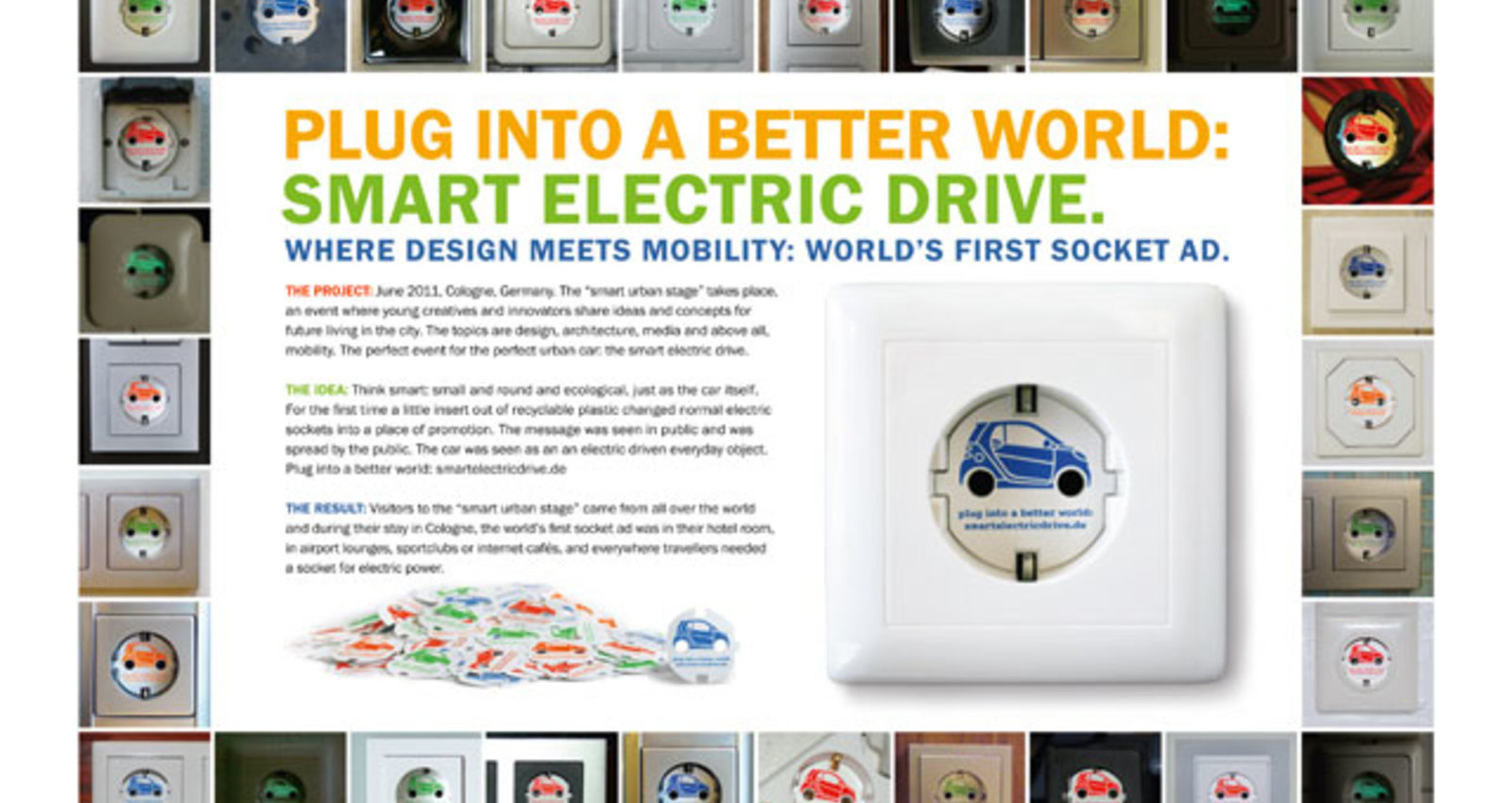 Plug into a better world - the world´s first socket ad