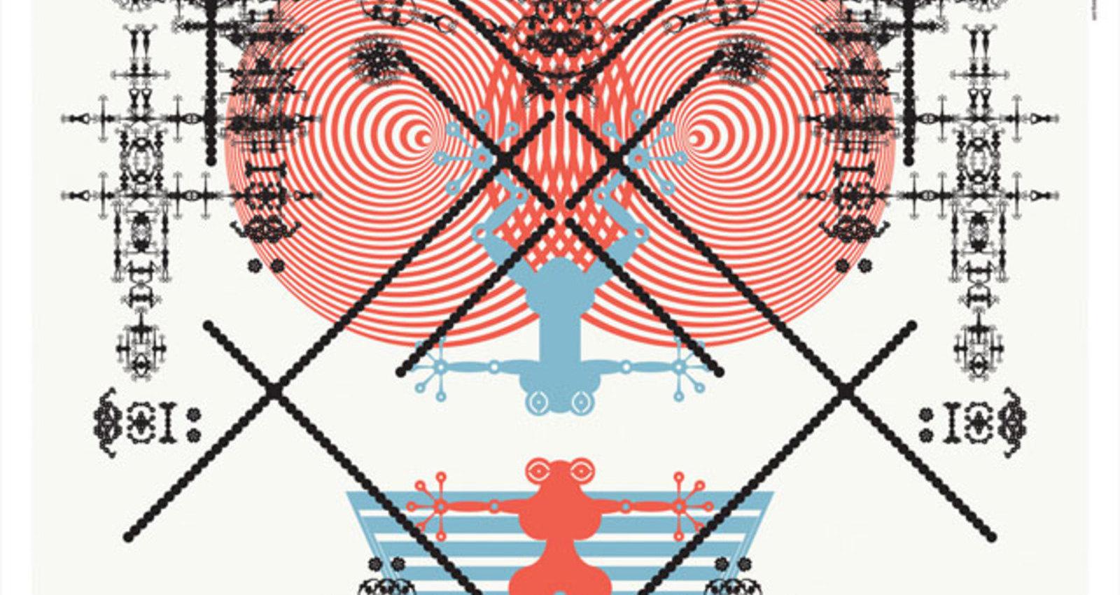 Red Dot Exhibition Poster: Digilog601