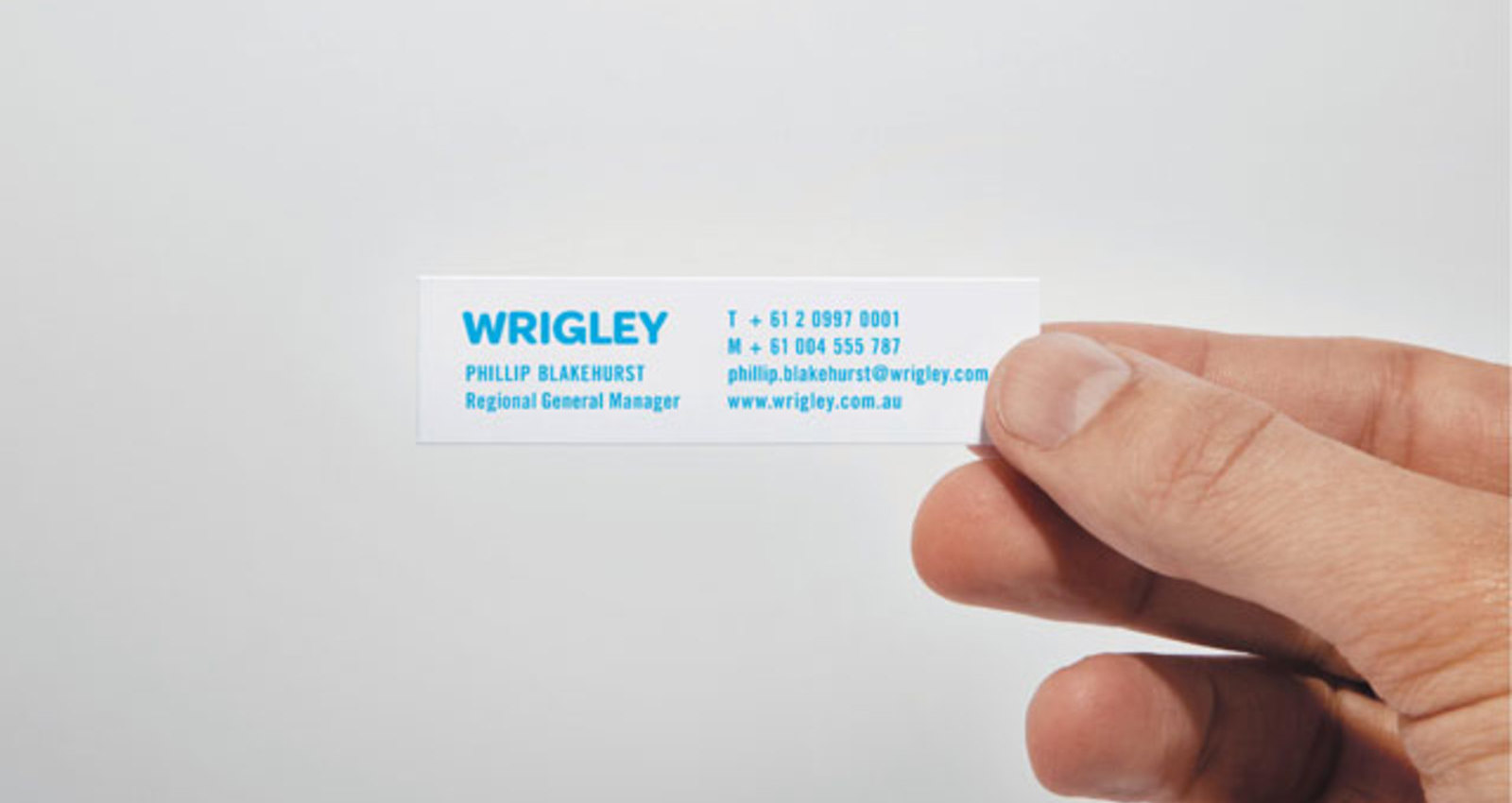 Wrigley Business Cards