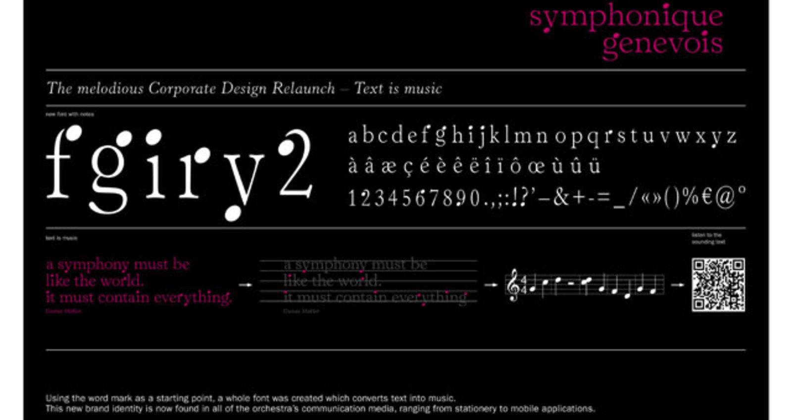 Corporate Design Orchestre Symphonique Genevois