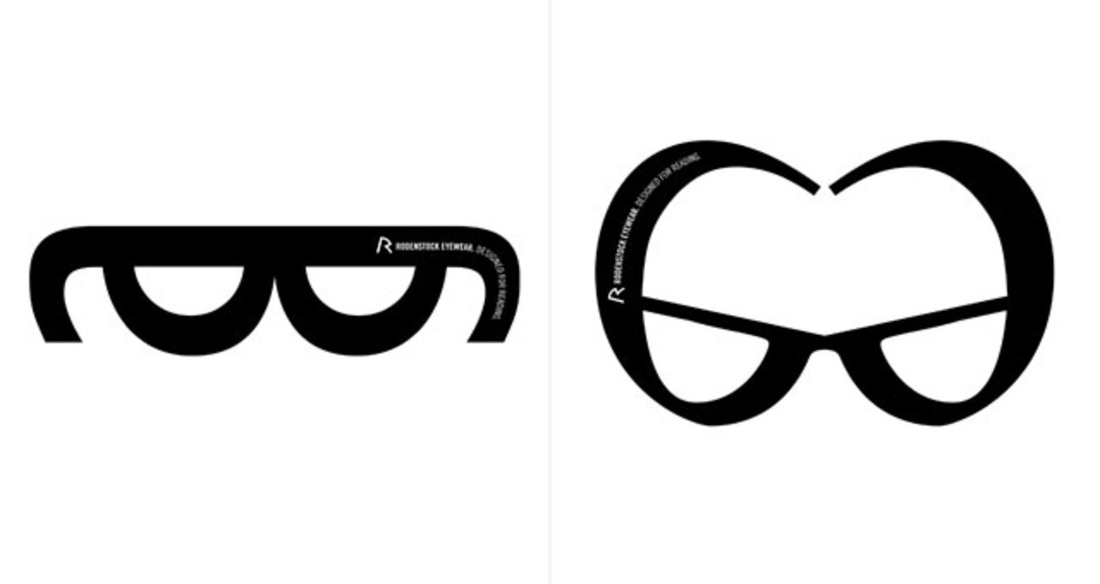 The Rodenstock Font Glasses
