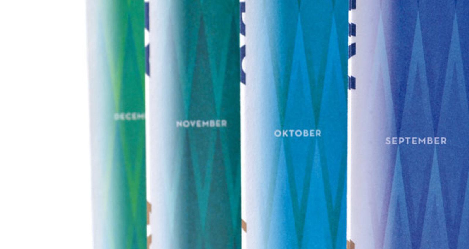 The twelve of '13 - Ando calendar 2013
