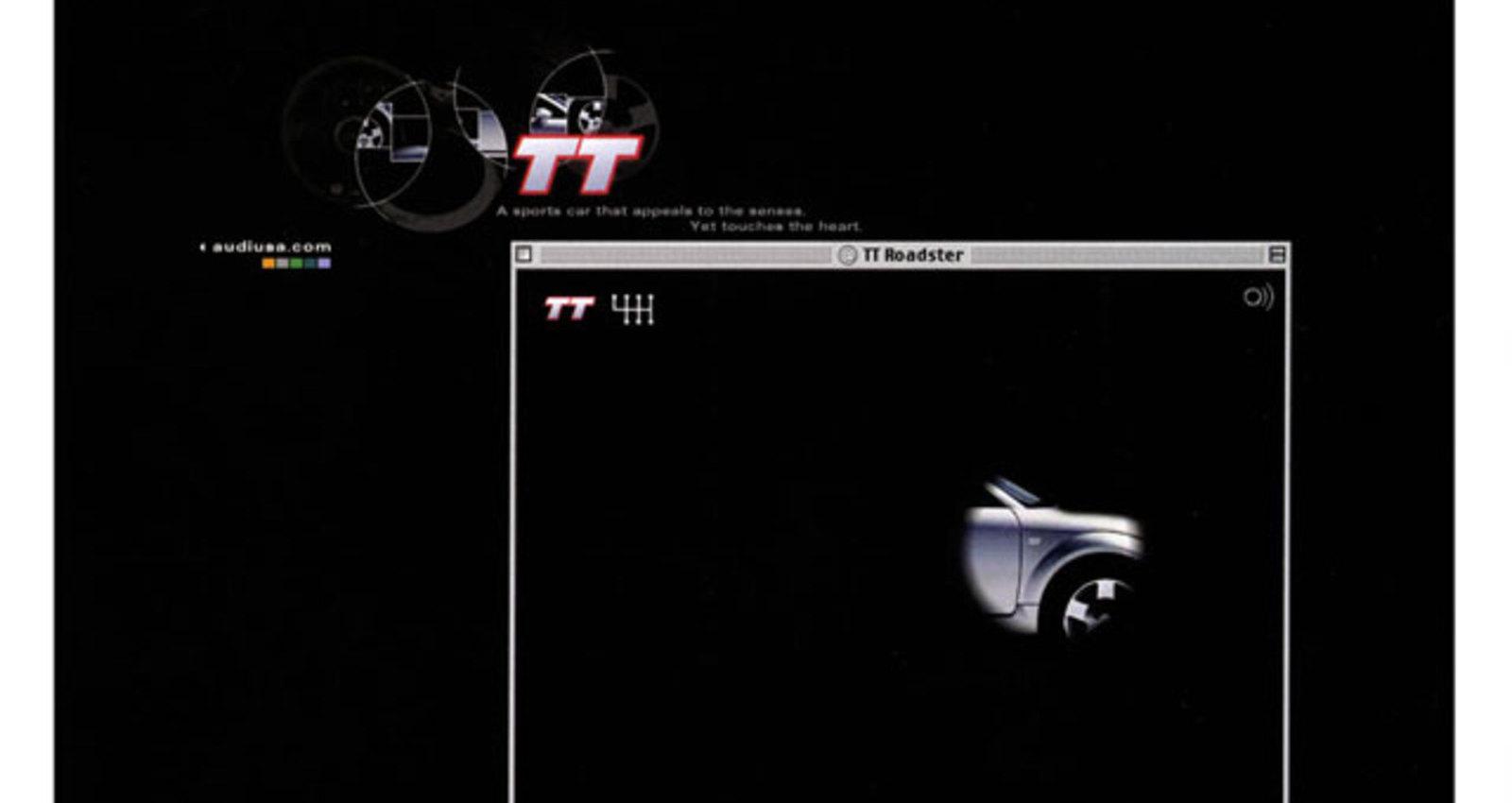 Audi TT minisite
