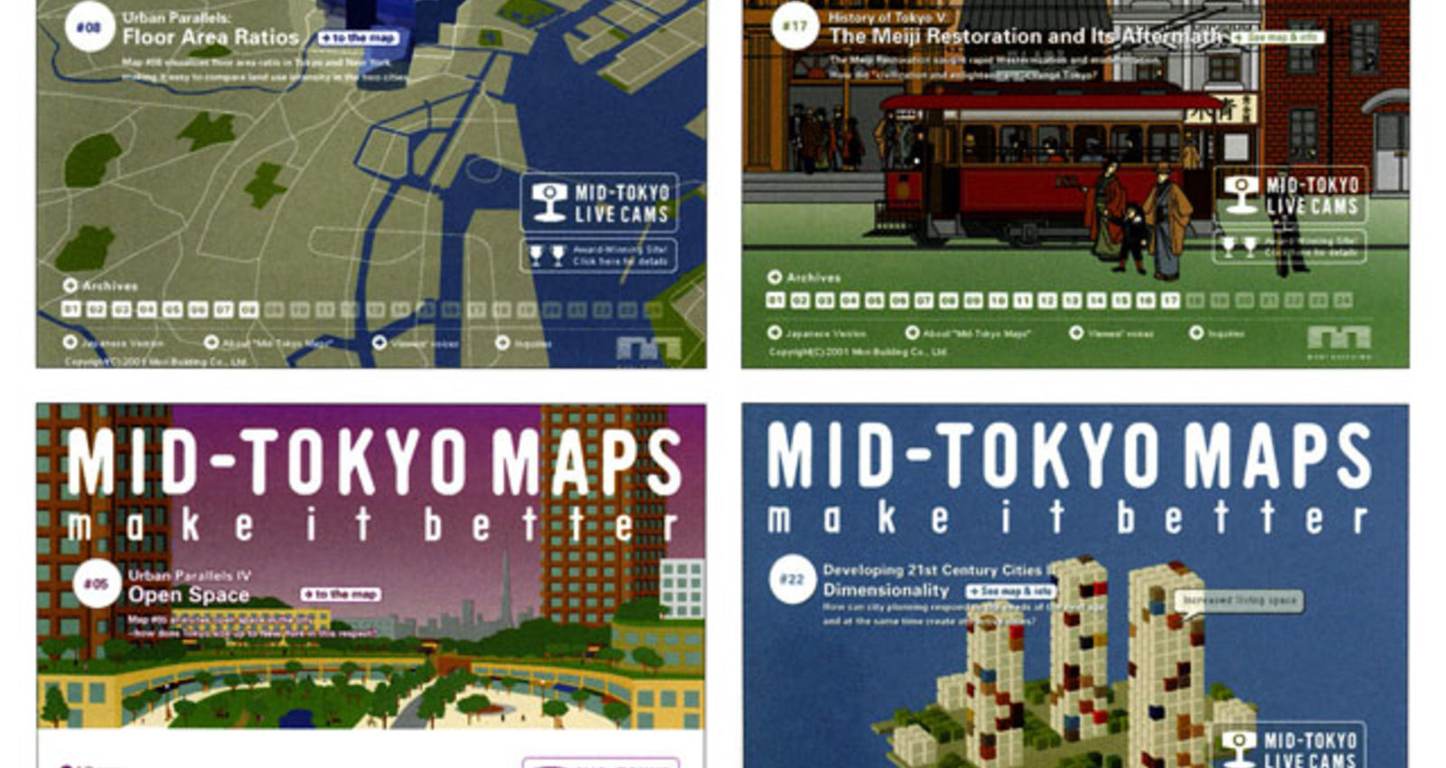 MID-TOKYO MAPS