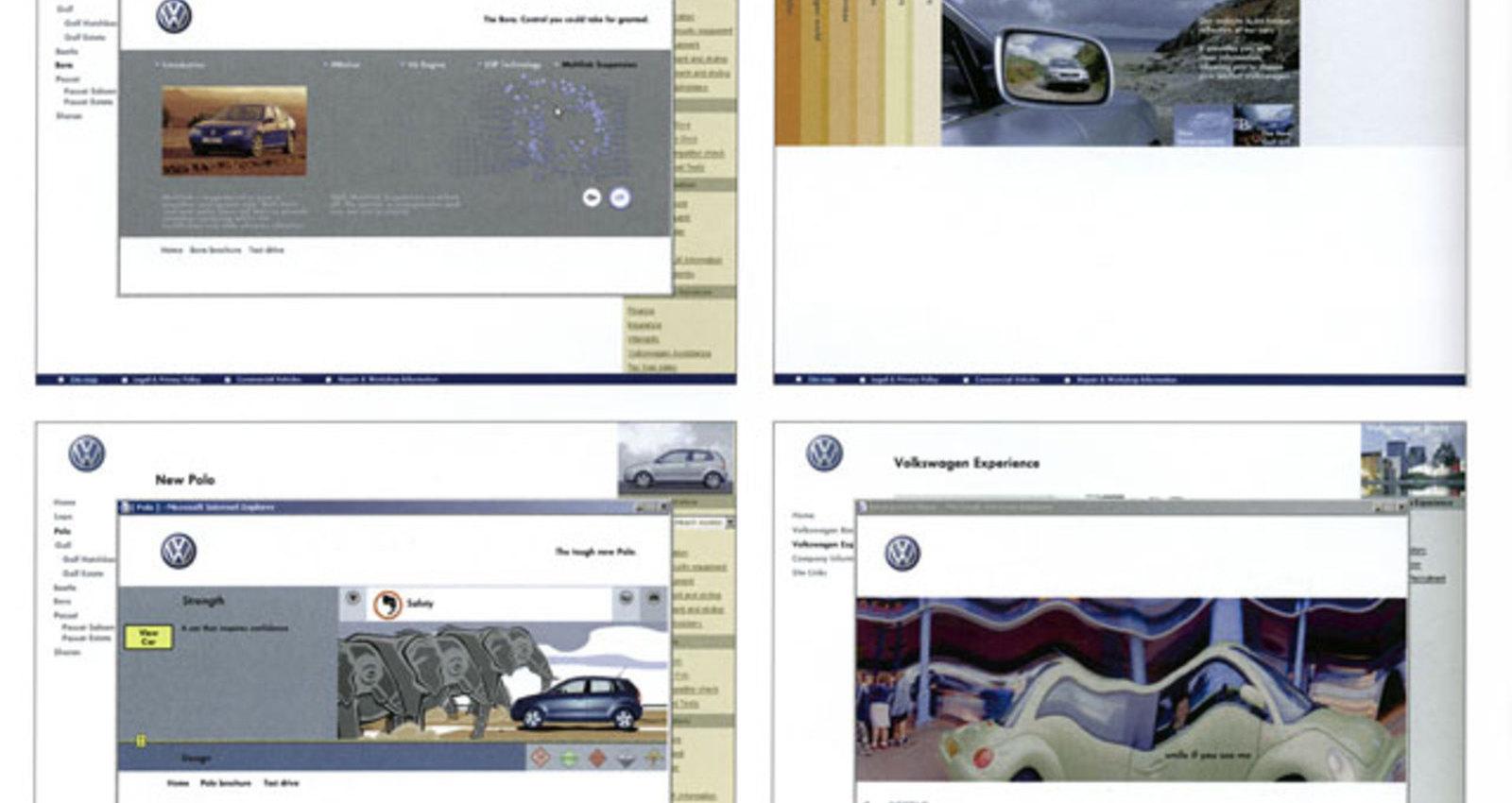 Volkswagen UK Site