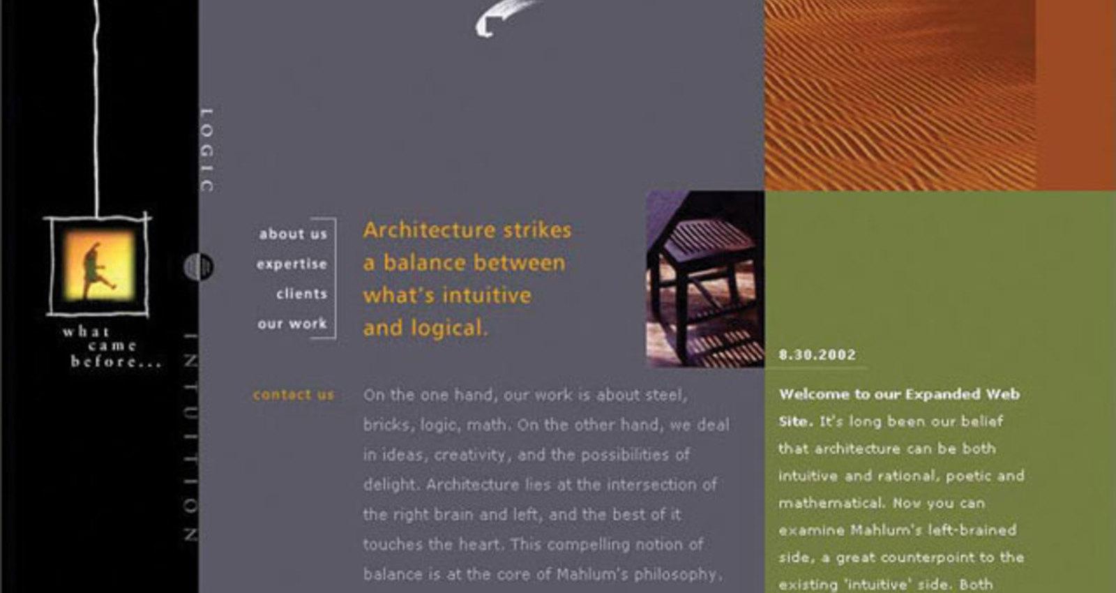 Mahlum Architects Web Site