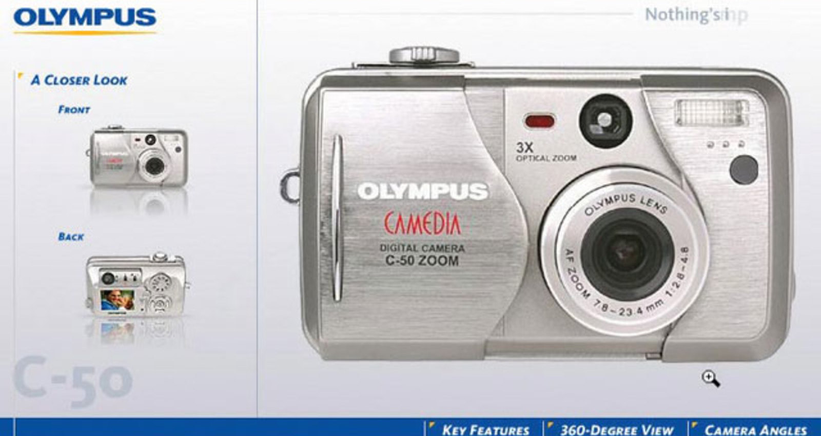 Olympus C-50 Zoom Virtual Tour