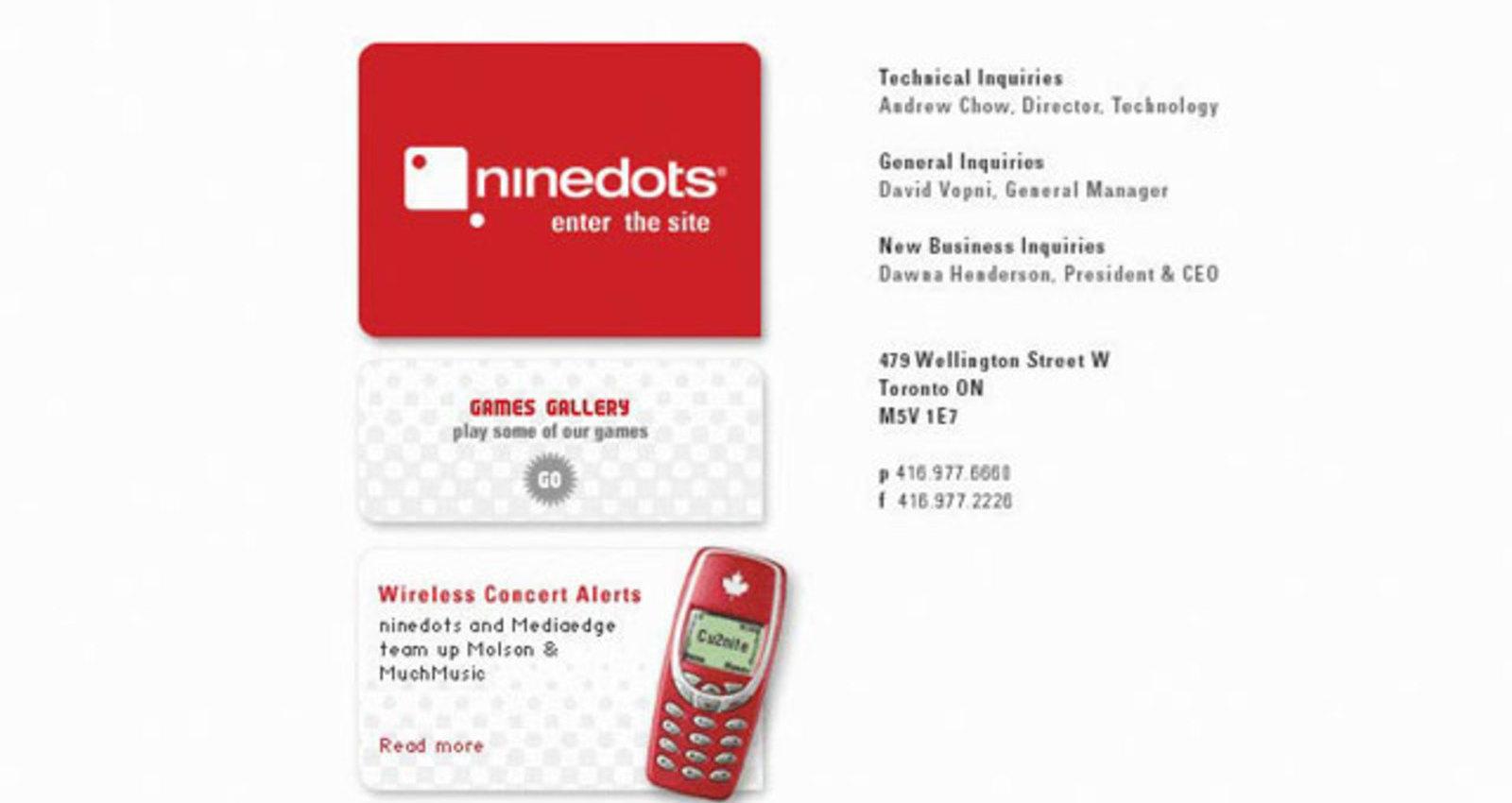 ninedots Agency Site