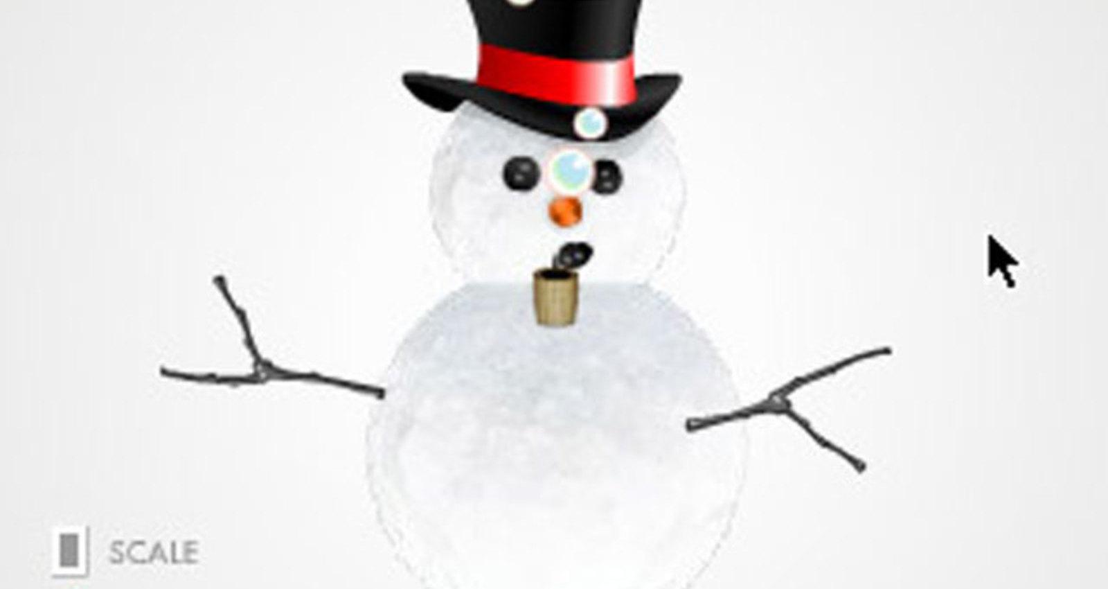 car, paddleball, snowman, train